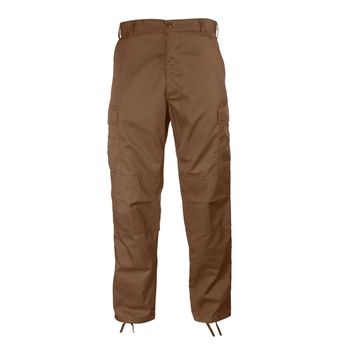BDU Brown Adjustable Cargo Pants