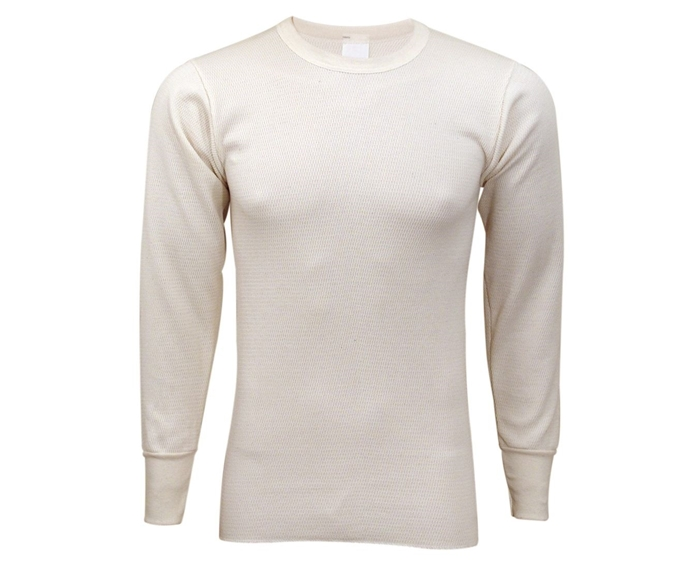 Expedition Weight Cotton Raschel Knit Thermal Shirt