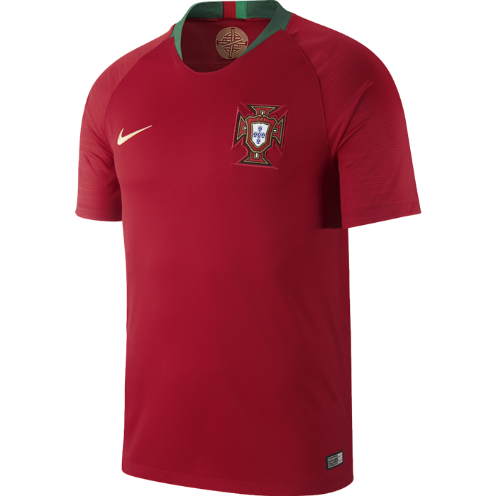 Nike 2018 Portugal Stadium Home Soccer Jersey
