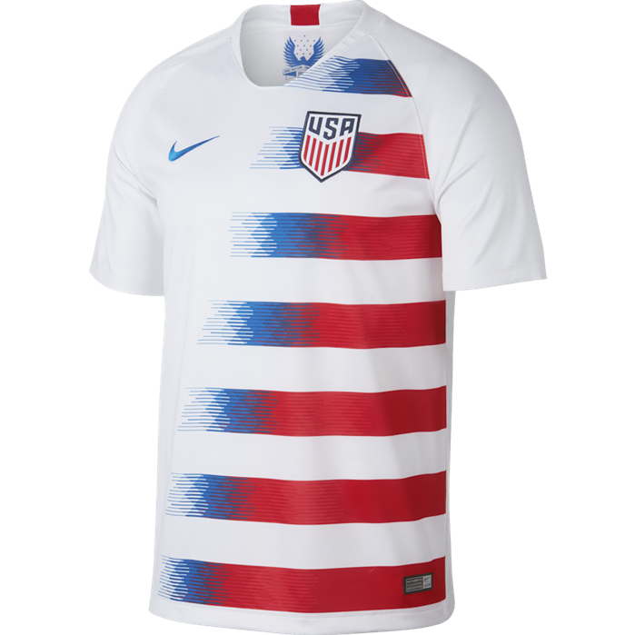 Nike 2018 US Stadium Home Soccer Jersey