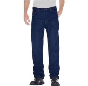 Regular Straight Fit 5-Pocket Denim Jean