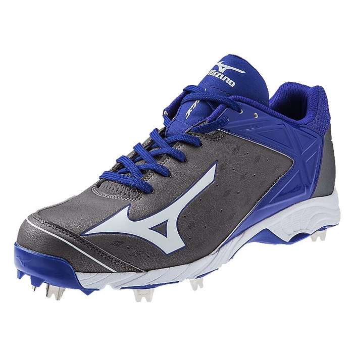 9 Spike Advanced Swagger 2 Low Grey-Royal