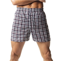 Hanes 838 Men's Tartan Boxers with Comfort Flex Waistband 2-Pack