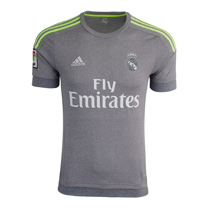 Adidas Real Madrid CF Away Jersey - GREY