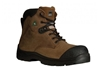 Traction Brown Steel Toe Boot