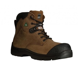 6'' TRACTION 360° Brown Steel Toe Boot