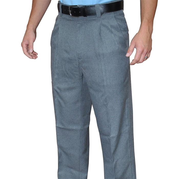 Smitty Umpire Pleated Combo Pants with Slash Front Pockets