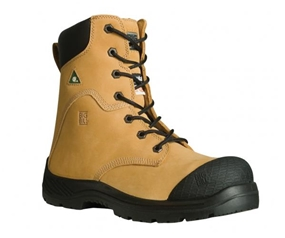 "8""  TRACTION 360° Nubuck Leather STEEL TOE BOOTS"