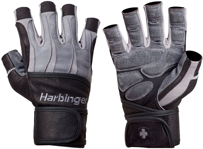 Harbinger Men's BioForm WristWrap Glove