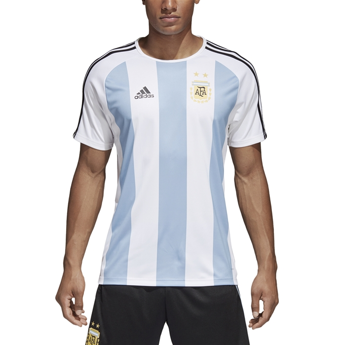 adidas Argentina 2018 Mens Short Sleeve Training Top