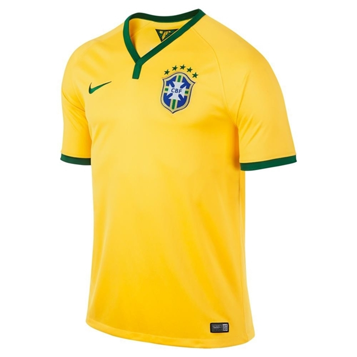 2014-15 Brazil Home World Cup Football Shirt