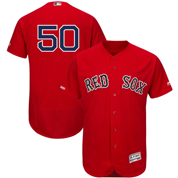 Majestic Boston Red Sox Mookie Betts Alternate Authentic Jersey