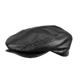 Broner Traditional ivy genuine leather cap
