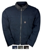 CD1954 Washed Solid Duck Fleece Lined Jacket