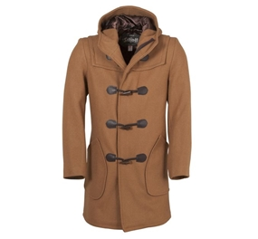 Schott Men's Satin Lined Duffle Coat