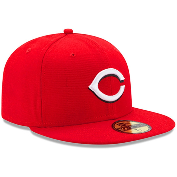 Cincinnati Reds Authentic Home 59FIFTY On-Field Cap