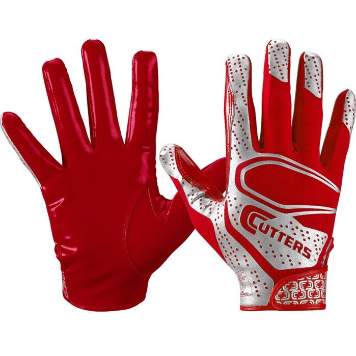 Cutters Rev 2.0 Receiver Gloves [ Red ]