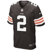 NFL Cleveland Browns Johnny Manziel On Field Limited Jersey