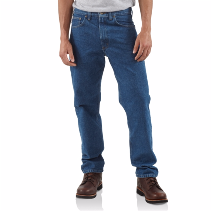 CARHARTT STRAIGHT TRADITIONAL-FIT TAPERED-LEG JEAN
