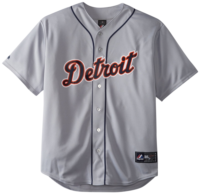 Detroit Tigers Authentic Road Cool Base Jersey