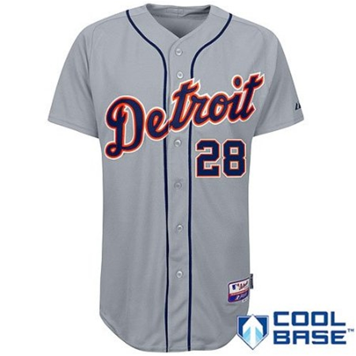 Detroit Tigers Authentic Road Jersey