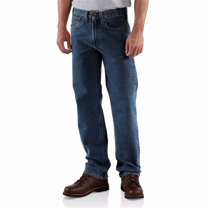 CARHARTT STRAIGHT TRADITIONAL-FIT STRAIGHT-LEG JEAN