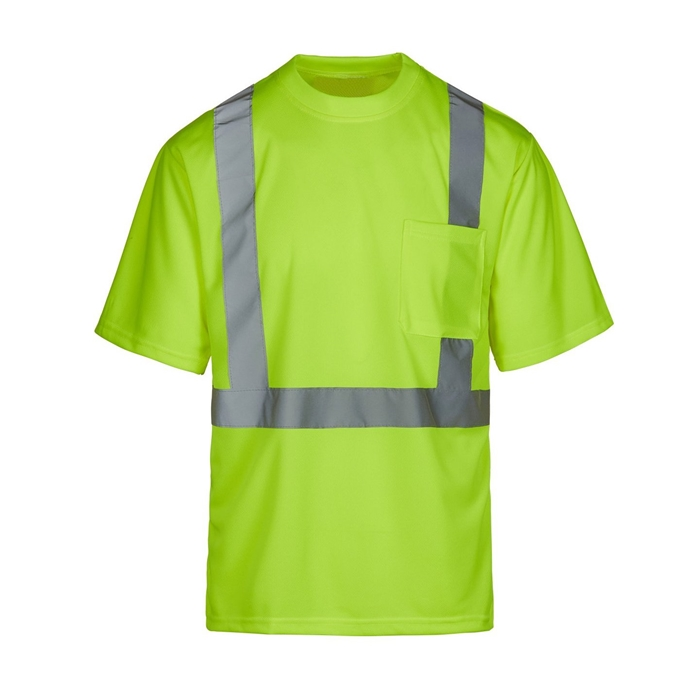 DSNY Sanitation Yellow Hi-Vis Short Sleeve Shirt