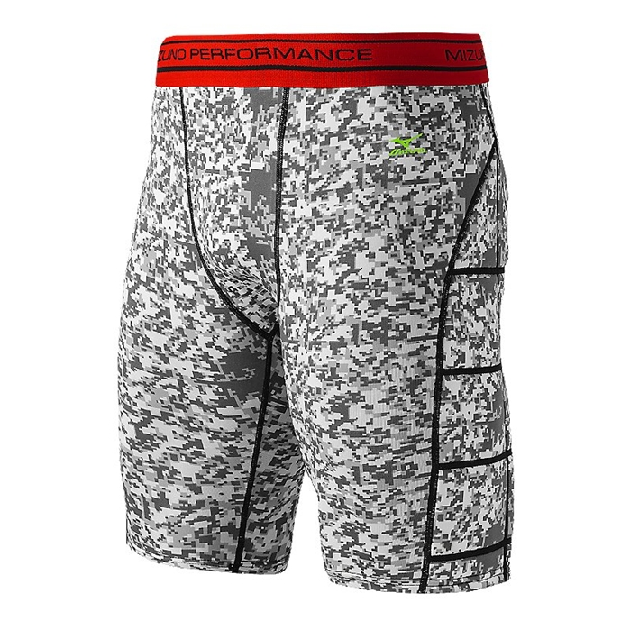Digi-Camo Sliding Short White