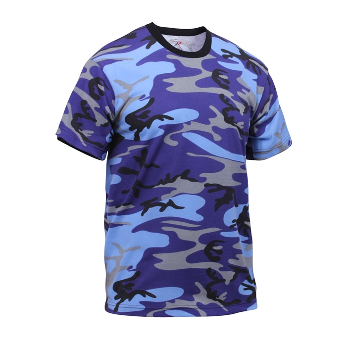 Rothco Colored Camo T-Shirts (11 Colors)