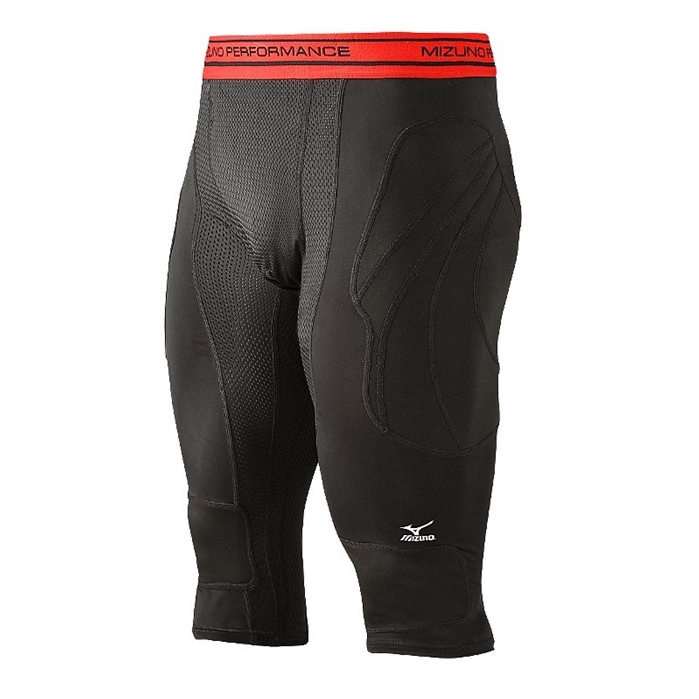 Elite Long Sliding Short Black
