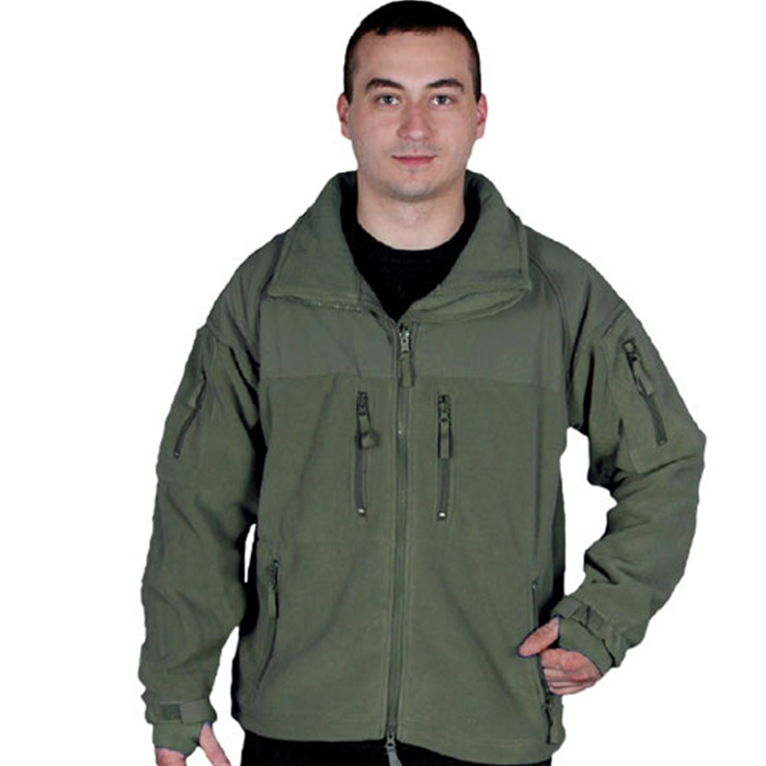 Enhanced Fleece Tactical  Olive Drab Jacket