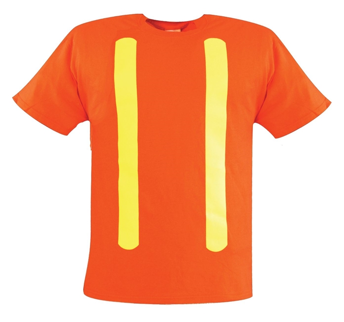 Enhanced Visibility Reflective Short Sleeve T-Shirt