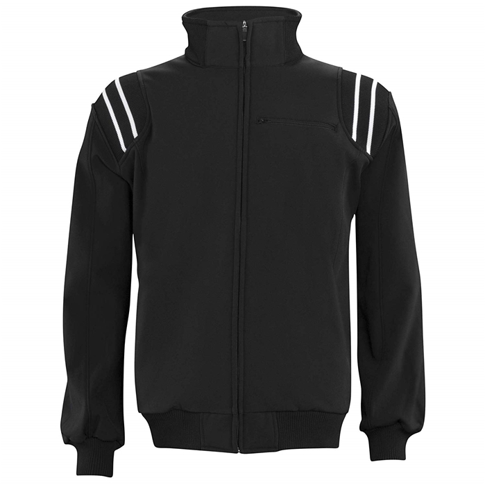 Adams USA Cold Weather Black White Umpire Jacket
