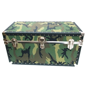 Biltmore Trunk Jumbo Camo Vinyl Covered Trunk