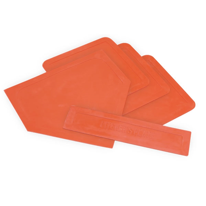 Champion Sports Indoor/Outdoor Throwdown Orange Base Set