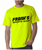 Personalize HiVis Adult Ultra Cotton T-Shirt