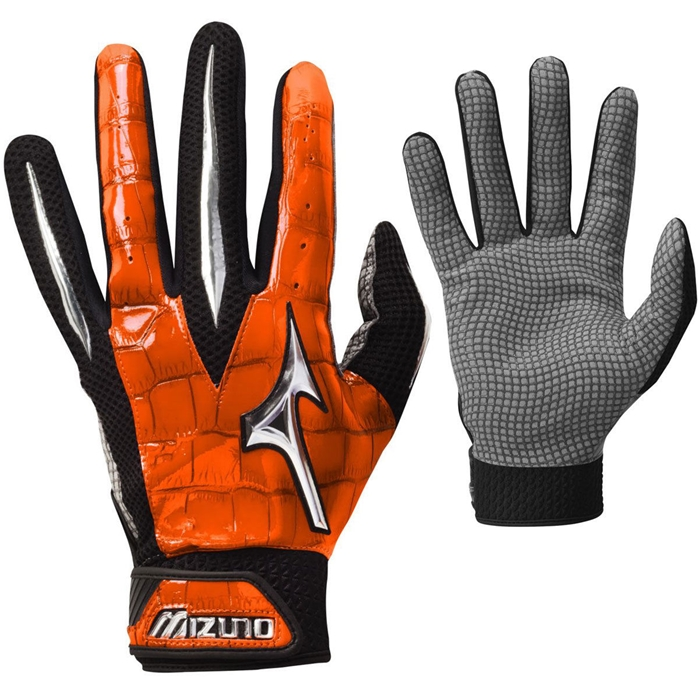Swagger Adult Batting Gloves Orange