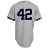 NY Yankees Authentic Mariano Rivera Road Jersey