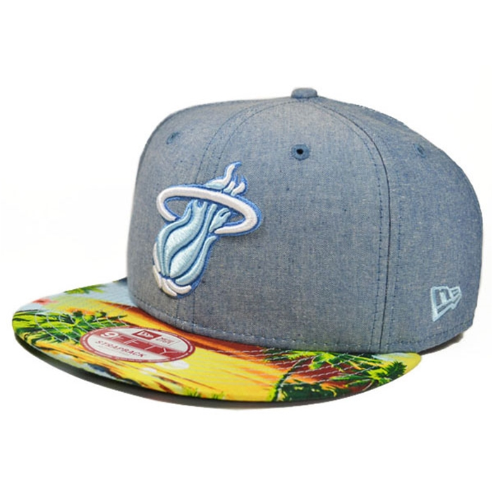New Era Miami Heat Island Visor Strapback