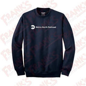 DryBlend Metro-North Railroad Crewneck Sweatshirt