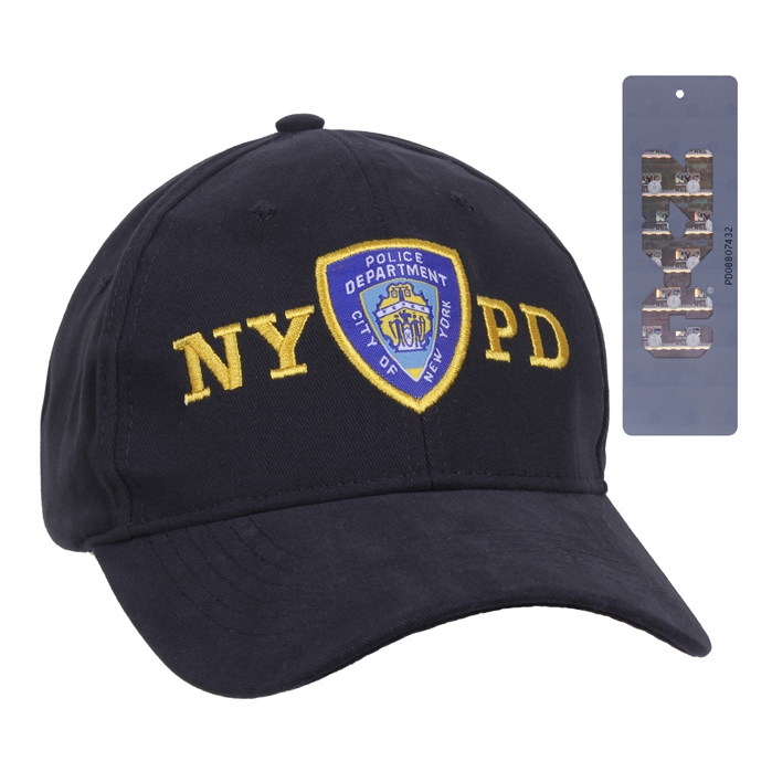 Rothco Officially Licensed NYPD Adjustable Cap With Emblem