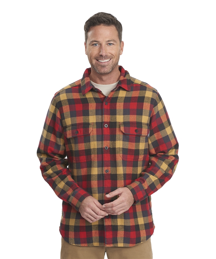 Oxbow Bend Plaid Flannel Buffalo L/S Shirt