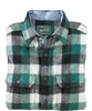 Buffalo Wool Shirt for Men Green