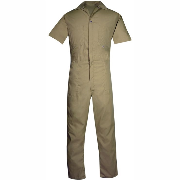 405 Lightweight Poplin Short Sleeve Coverall