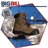 BB6320 Crazy Horse Leather Steel Toe Boot