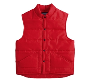 Nylon Down-Look Vest