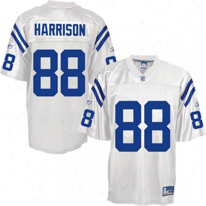 Harrison Colts Throwback Authentic NFL Jersey