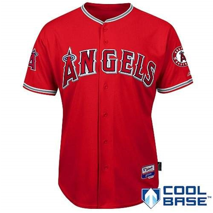 LA Angels of Anaheim Authentic 2012 Alternate Jersey