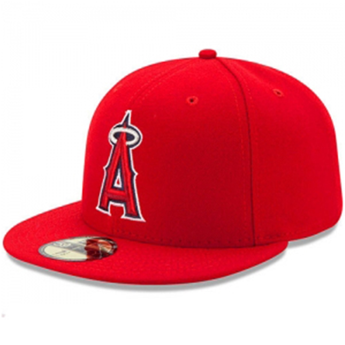 LA Angels of Anaheim Authentic On Field Game Cap
