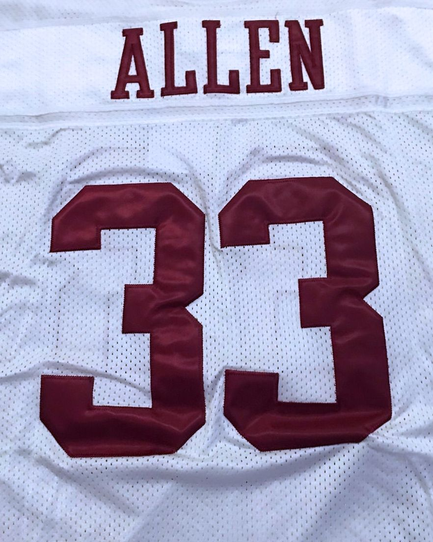 the latest 7b23a aaa68 Marcus Allen #33 USC Trojans COLLEGIATE THROWBACK JERSEY